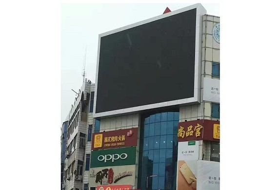 กรณีของบริษัท ShoppingMall video wall led display P6 for advertising usage